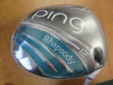 New Ping Golf Rhapsody 12 Ladies Driver UTL220 ULTRA LITE Graphite Ladies Flex