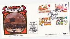 "Benhams.bls6.1983. fiere britannico ""Chipperfields Circus handstamp"" FDC."