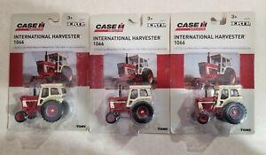 "LoT Of 3 New Toy Tractor Vintage INTERNATIONAL HARVESTER 3"" Long #1066 Die Cast"