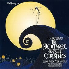The NIGHTMARE BEFORE CHRISTMAS-CD-EST/Danny Elfman (Tim Burton)