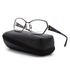 Alain Mikli AL 1020 Womens Eyeglasses 0200 Bronze Blue Black Frame Clear Lenses