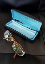 TED BAKER B163 130mm Harlequin Brown 51-17 EYE GLASSES FRAMES WITH CASE & Cloth