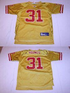 Youth Kansas City Chiefs Priest Holmes L (14/16) Jersey (Yellow) Reebok (A)