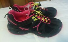 Speedo Women's Black & Pink Trail Running Athletic Shoes Size 7 NEW