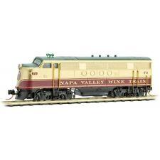 Micro-trains N Napa Wine Train FT Locomotive MTL98701692