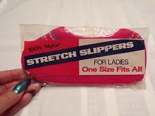 Vintage Ladies Stretch Slippers