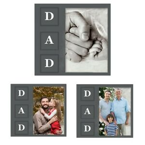 Father's Day Photo Picture Frame Best Dad Grandpa Birthday Anniversary Gift Idea