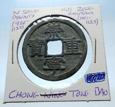 1101AD CHINESE Northern Song Dynasty Antique HUI ZONG Cash Coin of CHINA i72363