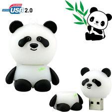 32GB 16GB USB Flash Storage Panda Slicone Pen Drive Memory U Disk for PC/Laptop