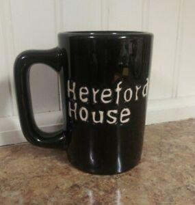 Black Hereford House Mug By Tuxton