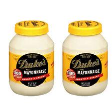 (2 Pack) Duke's Real Mayonnaise 32 oz