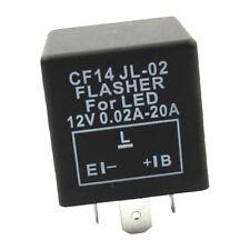 3-Pin LED Flasher Relay For Car Turn Signal Lights Flash Fix CF14 JL-02