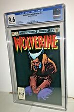 Wolverine Limited Series #3, CGC 9.6, Off-White to White