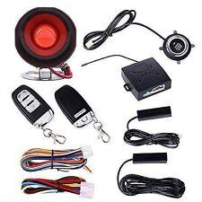 NEW Car Alarm System PKE-Passive Keyless Entry Remote Engine Start Push Button