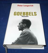 Peter Longerich - Goebbels - Biographie