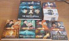 Doctor Who 5 Book Set LIBRO in brossura e Rilegato LA COLLEZIONE dell'Enciclopedia
