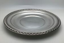 Antique Wallace Sterling Silver Numbered Tray Vintage H108
