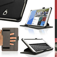"""PU Leather Folio Case for Samsung Galaxy Tab S 8.4"""" SM-T700 SM-T705 Flip Cover"""