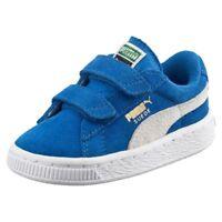 Puma Kids Suede 2 Straps Sneaker Bambino 356274 02 Sz-UK 4 EU 20 CM 13 RRP-£40
