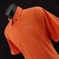 Men Under Armour Loose Heatgear Casual Performance Golf Polo Shirt Size Large L