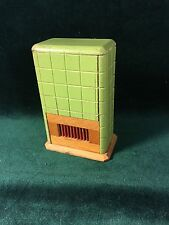 Dollhouse Miniature Wood Heater Stove Fireplace -  Antique Furniture ~Germany