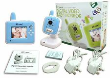 NEW Baby Monitors, Wireless VIDEO BABY CAMERA & MONITOR, Night Vision with Zoom