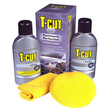 T Cut 365 Paintwork Kit Car Polish Wax Colour Restorer Scratch Remover - SILVER