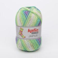 100g JAIPUR SOCKS KATIA Sockenwolle 4-fach FARBVERLAUF 53 Wolle Socken ähn REGIA