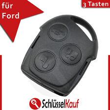 Ford 3 Tasten Gehäuse Autoschlüssel Fernbedienung Focus Mondeo Funk Ersatz Neu