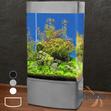 ALPUNA T5 GHH-80 Säulen-Aquarium -Mattschwarz, 350L