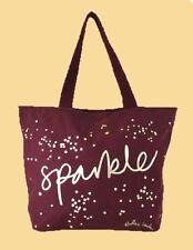 """**RADLEY LONDON """" SPARKLE """" Burgundy Canvas Tote Bag Msrp $35.00"""