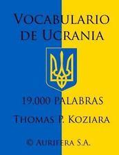 Vocabulario de Ucrania by Thomas Koziara (2014, Paperback)