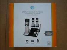 NEW AT&T CL82315 DECT 6.0 3-Handset Expandable Cordless Phone, Digital Answering