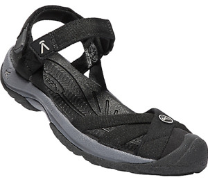 Keen Bali Strap Black/Steel Grey Ankle Strap Sandal Women's sizes 5-11 NEW!!!