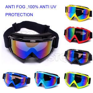 Motorcycle Goggles Motocross Off Road Anti-UV Dust ATV Dirt Bike Racing  Glasses