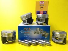 YCP 75mm P29 Coated Pistons High Dome Compression Honda Civic CRX D16 SOHC