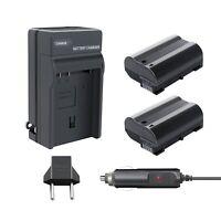 2x EN-EL15 Battery+charger for Nikon 1 V1 Nikon D850 D7100 D7200 D750 D800 D610