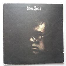 Elton John - Self Titled s/t Same Vinyl LP UK 1st Press 1970 Heavy Tex Sleeve