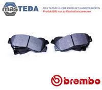 BREMBO VORNE SATZ BREMSBELÄGE BREMSKLÖTZE P68059 P NEU OE QUALITÄT