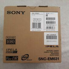 NEW!!! Sony SNC-EM631 1080P CCTV Security Camera