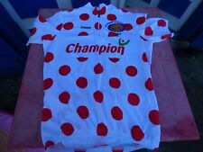 maillot de vélo pois rouges  La ronde des 3 vallées 2007 ZiraunaT L