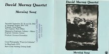 David Murray Quartet - Morning song, Black Saint,1984 -Top Zustand !!!