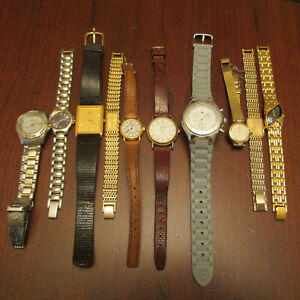 Lot Ladies Watches - Movado, Michele, Seiko ,Citizen
