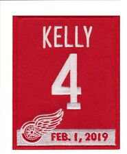 Detroit Red Wings Red Kelly's jersey Retirement Patch