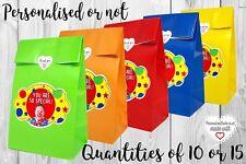 El Sr. Tumble Cumpleaños Fiesta Goody tratar favor bolsas Boxes10 o 15 temática CBeebies