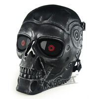 Tactical CS Protection Gear Hunting War Airsoft Paintball Full Face Skull Mask