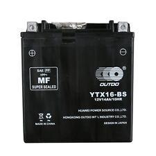 YTX16-BS ATV Battery for SUZUKI LT-A700X King Quad 700CC 05-07/A500F F500F 02-03