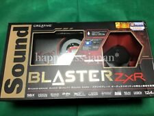 CREATIVE PCIe Sound Blaster ZXR 24bit 192kH SB-ZXR-R2 Hires from Japan F/S New