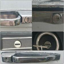 Mercedes 450SL R107 Lock Set Key Ignition door Handle Glove Box trunk lock oem