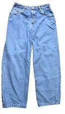 Tommy Hilfiger Vintage Womens Jeans Size 10 High Waist Mom Pant Flare Hem